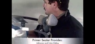 How to Spray Primer Sealer And Base Coat Paint On Car