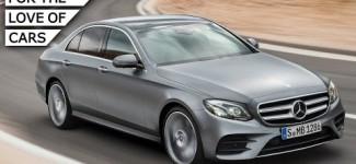 All-New Mercedes-Benz E-Class: Quiet Tech Express – Carfection